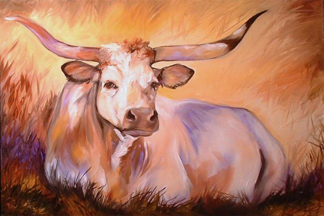 Art: IN THE COOL OF THE SHADE by Artist Marcia Baldwin