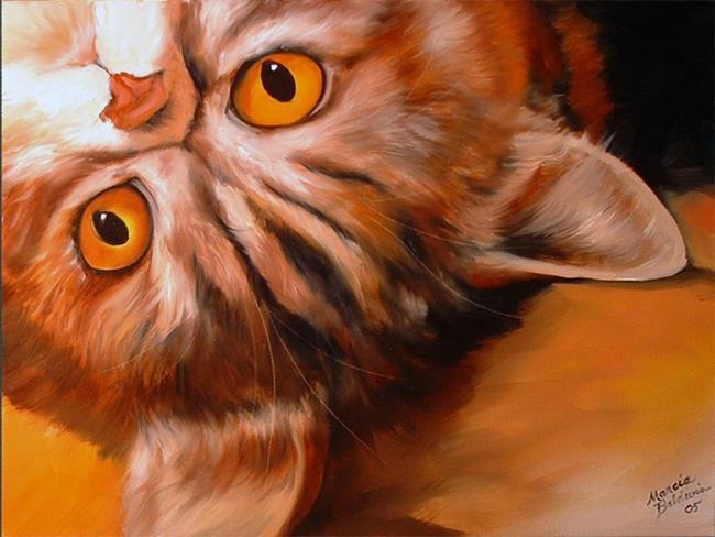Art: WHAT'S UP? by Artist Marcia Baldwin
