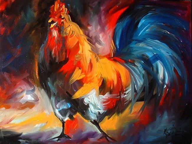Art: MR ROO by Artist Marcia Baldwin