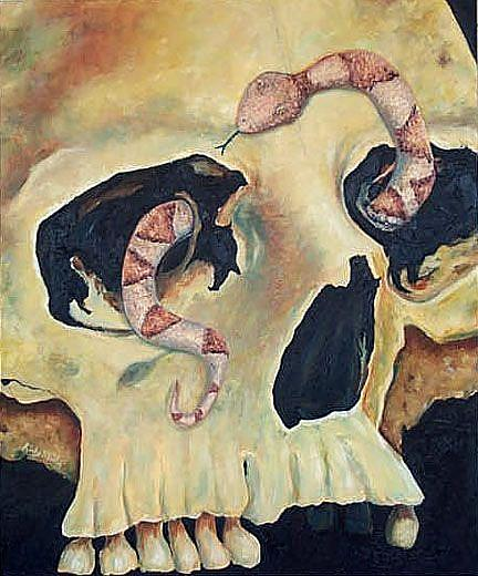 Art: Dance Macabre by Artist Ulrike 'Ricky' Martin