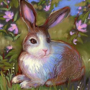 Detail Image for art Spring Bunny - (Sold)