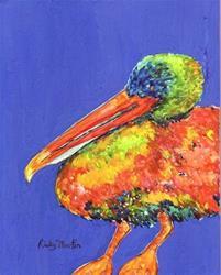 Art: Pelican  - sold by Artist Ulrike 'Ricky' Martin
