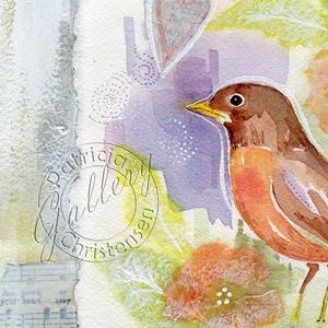 Detail Image for art Spring Robin