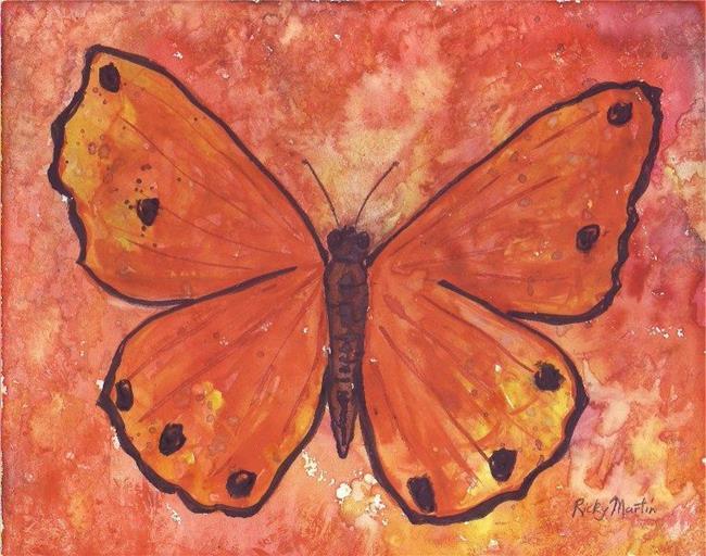 Art: Butterfly 3 by Artist Ulrike 'Ricky' Martin