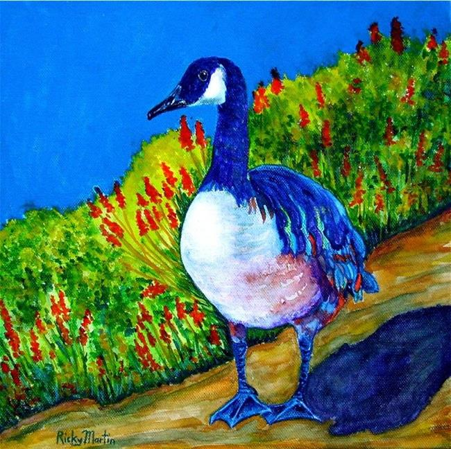 Art: Goose ( available in my ebay store) by Artist Ulrike 'Ricky' Martin