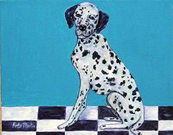 Art: Dalmation ( available in my ebay store) by Artist Ulrike 'Ricky' Martin