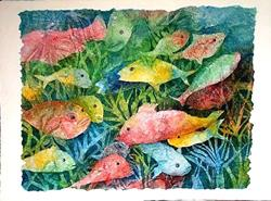 Art: Under the Sea ( sold) by Artist Ulrike 'Ricky' Martin