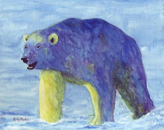 Art: Polar Bear 2 by Artist Ulrike 'Ricky' Martin