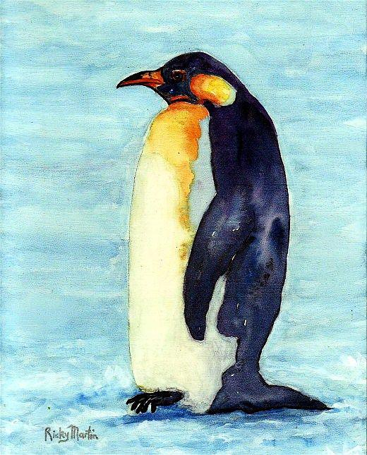 Art: Penguin by Artist Ulrike 'Ricky' Martin