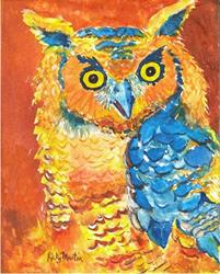 Art: Owl - available in my etsy store by Artist Ulrike 'Ricky' Martin