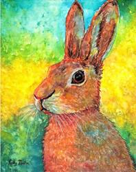 Art: Hare I Am by Artist Ulrike 'Ricky' Martin