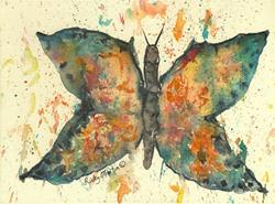 Art: Butterfly $ 1 by Artist Ulrike 'Ricky' Martin