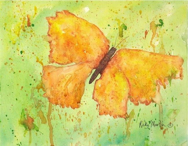 Art: Butterfly #3 by Artist Ulrike 'Ricky' Martin
