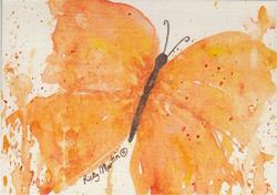 Art: Butterfly # 7 by Artist Ulrike 'Ricky' Martin