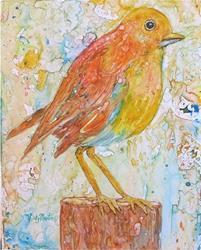 Art: Baby Bird by Artist Ulrike 'Ricky' Martin