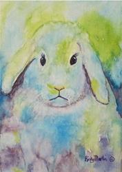 Art: Fluffy Bunny by Artist Ulrike 'Ricky' Martin