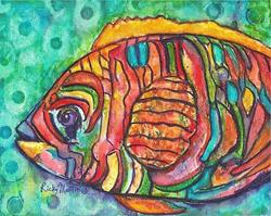 Art: Colorful Fish - sold by Artist Ulrike 'Ricky' Martin