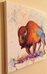Detail Image for art Buffalo Abstract