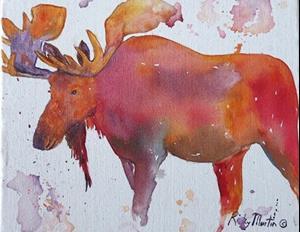 Detail Image for art Moose - sold