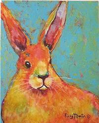 Art: Bunny Long Ears by Artist Ulrike 'Ricky' Martin