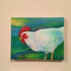 Art: Chicken by Artist Ulrike 'Ricky' Martin