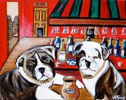 Art: Doc and Wyatt by Artist Heather Sims