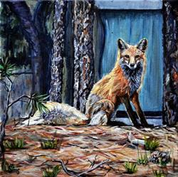 Art: Betty the Fox by Artist Heather Sims