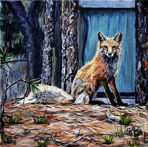 Art: Betty the Fox by Artist Heather Sims