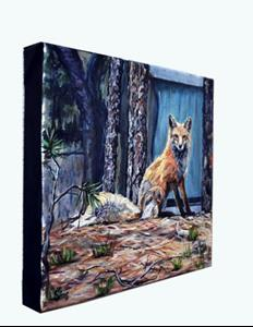 Detail Image for art Betty the Fox