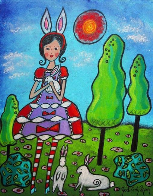 Art: Bunny-Girl by Artist Juli Cady Ryan