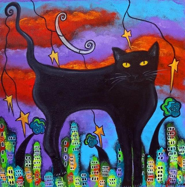 Art: Cats Rule by Artist Juli Cady Ryan