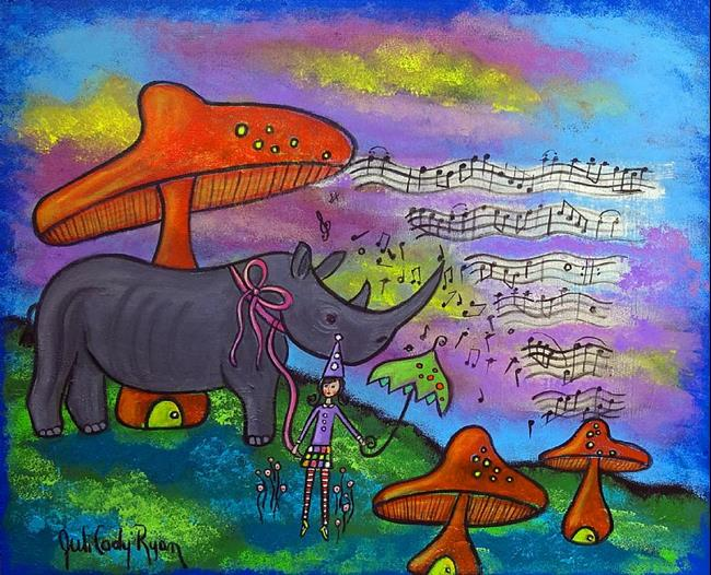 Art: The Composer by Artist Juli Cady Ryan