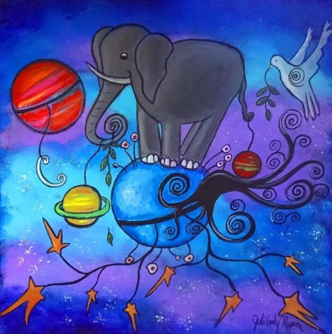 Art: Balance by Artist Juli Cady Ryan