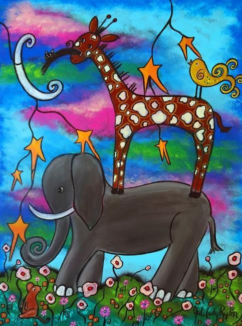 Art: The Dreamers by Artist Juli Cady Ryan