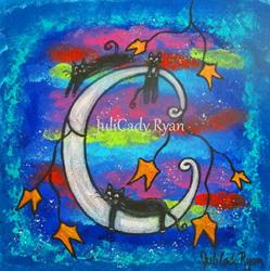 Art: Night Life by Artist Juli Cady Ryan
