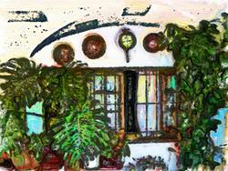 Art: Arch garden by Deanne Flouton