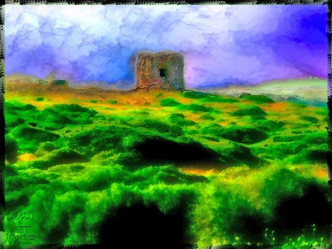 Art: Defense Tower by Artist Deanne Flouton