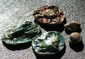 Detail Image for art Sea creature set