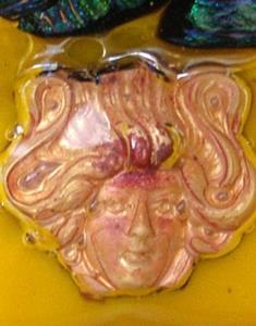 Detail Image for art Goddess in Glass