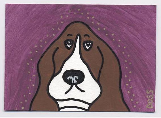 Art: Hound by Artist Jenny Doss