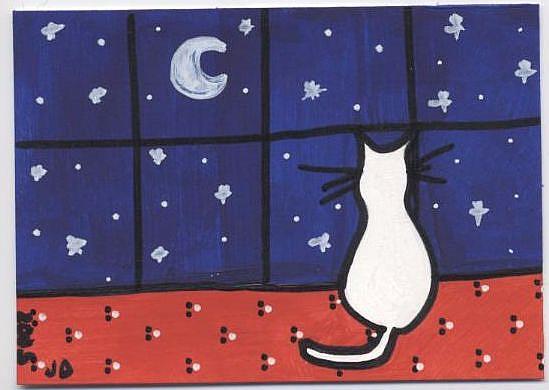Art: Chloe's Night In by Artist Jenny Doss