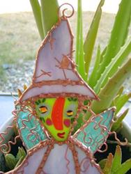 Art: Tattered Witch Fairy Art Doll by Artist Dianne McGhee