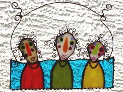 Art: Girlfriends Class Reunion by Artist Dianne McGhee