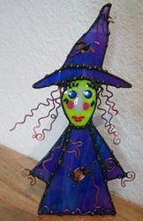 Art: Fauna Spellcaster Witch by Artist Dianne McGhee
