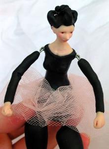 Detail Image for art Teresa the ballerina - Jointed Doll