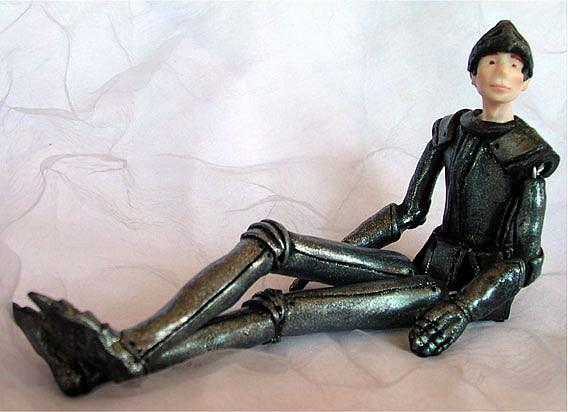 Art: Marcus the Knight - Jointed Doll by Artist Andree Chenier