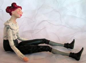 Detail Image for art Beatrice - Jointed Doll