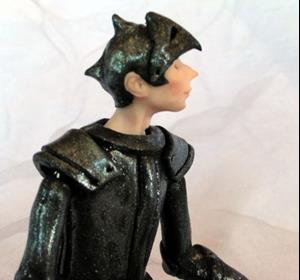 Detail Image for art Marcus the Knight - Jointed Doll