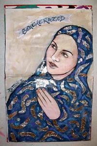 Detail Image for art 'Scheherazod': An Art Journal Entry