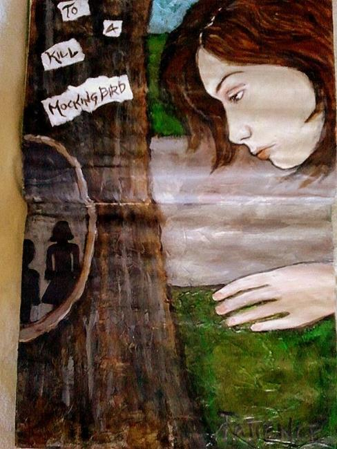 Art: 'To Kill A Mockingbird': An Art Journal Entry by Artist Patience